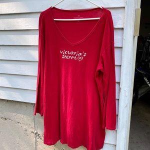 Victoria's Secret night shirt. Size XL